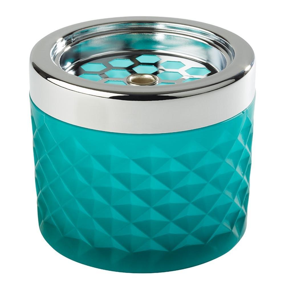 APS Wind Cenicero, diámetro 9,5cm, h: 8cm, de cristal, en turquesa