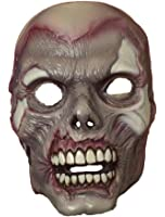 Zombie Skeleton Adult PVC Costume Mask