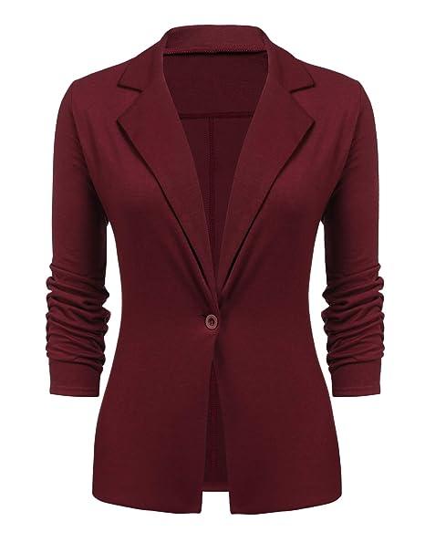 Amazon.com: ACEVOG Blazers - Chaqueta para mujer, estilo ...