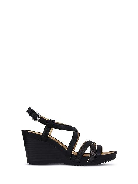 Cuero 05404 Zapatos De D92p3b D B Blanco Mujer Sandalias New Geox En C1r1q Rorie tshQdrxBC
