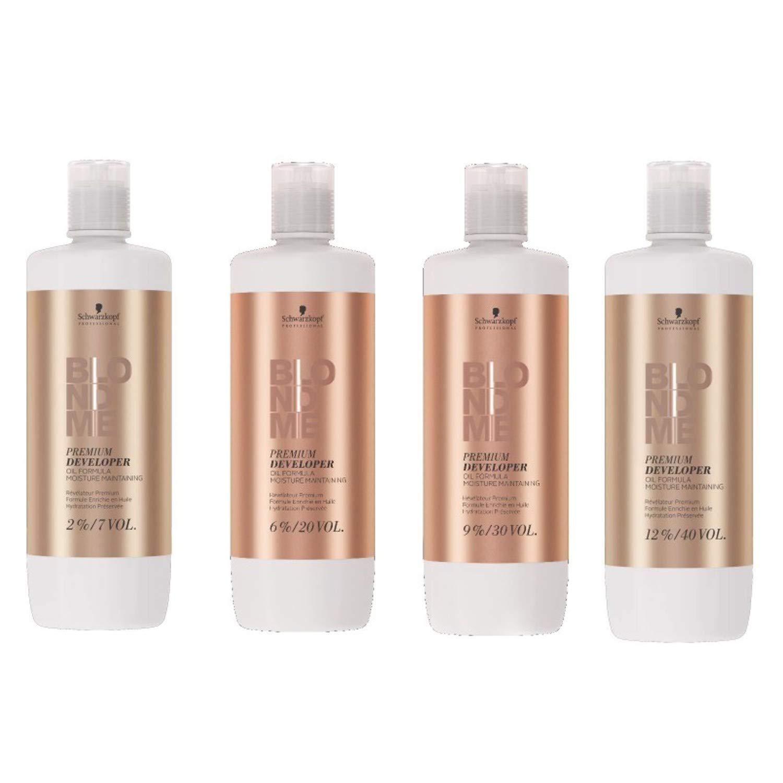 Schwarzkopf Blond Me Premium Care Developer 2 Percent Oil Formaula Hair Moisture Maintaining, 1.101 kg