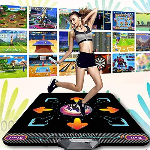 Dance mat Non-Slip Somatosensory Dance Machine Yoga Touch Sensitive PVC+ Environmentally Friendly Silicone Material, Tv Computer Dual Purpose, Unlimited Update by Dance mat (Image #8)