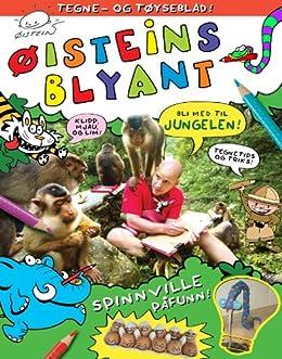 Øisteins Blyant i Jungelen: Tegne - og tøyseblad (Norwegian_bokmal Edition)