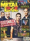 Metal Edge Magazine January 2000 Godsmack, Queensryche, Ministry