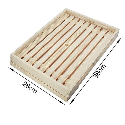 QYDJsgl Tabla de Cortar 100% bambú Sushi Plana Bandeja de Horno de ...