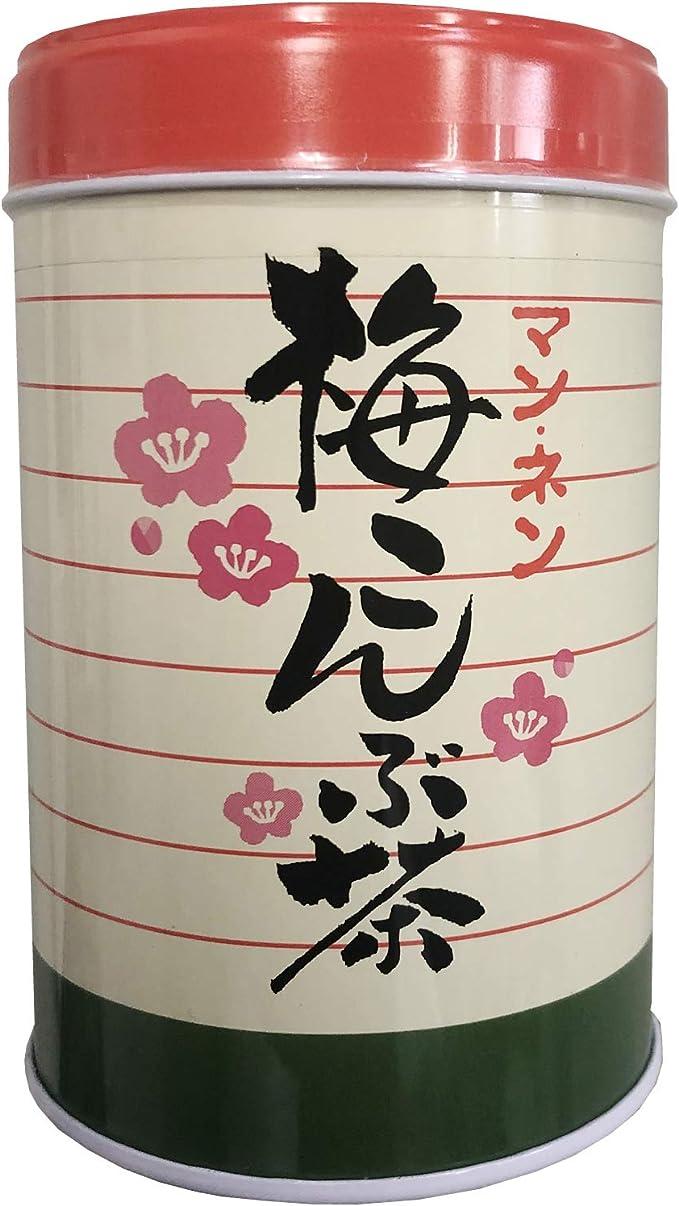 マンネン 梅こんぶ茶 80g