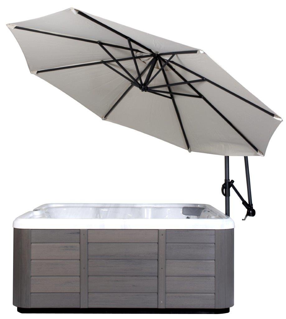 Spa Side Umbrella (Crème color)