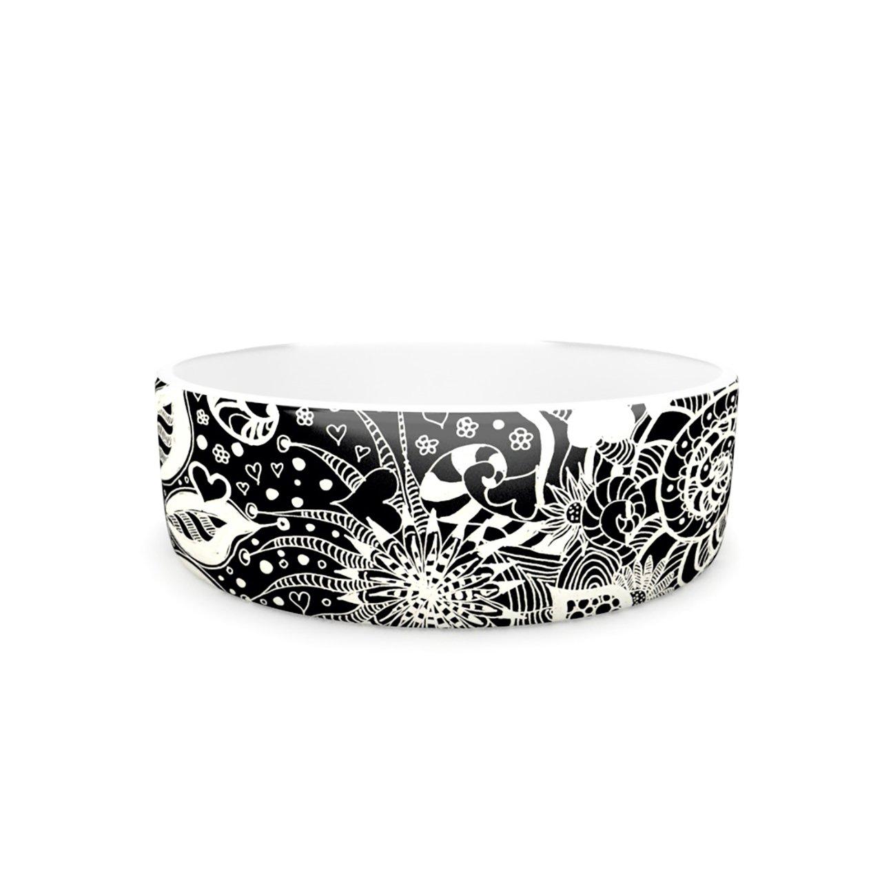 Kess InHouse Monika Strigel Neptunes Garden  Pet Bowl, 7-Inch