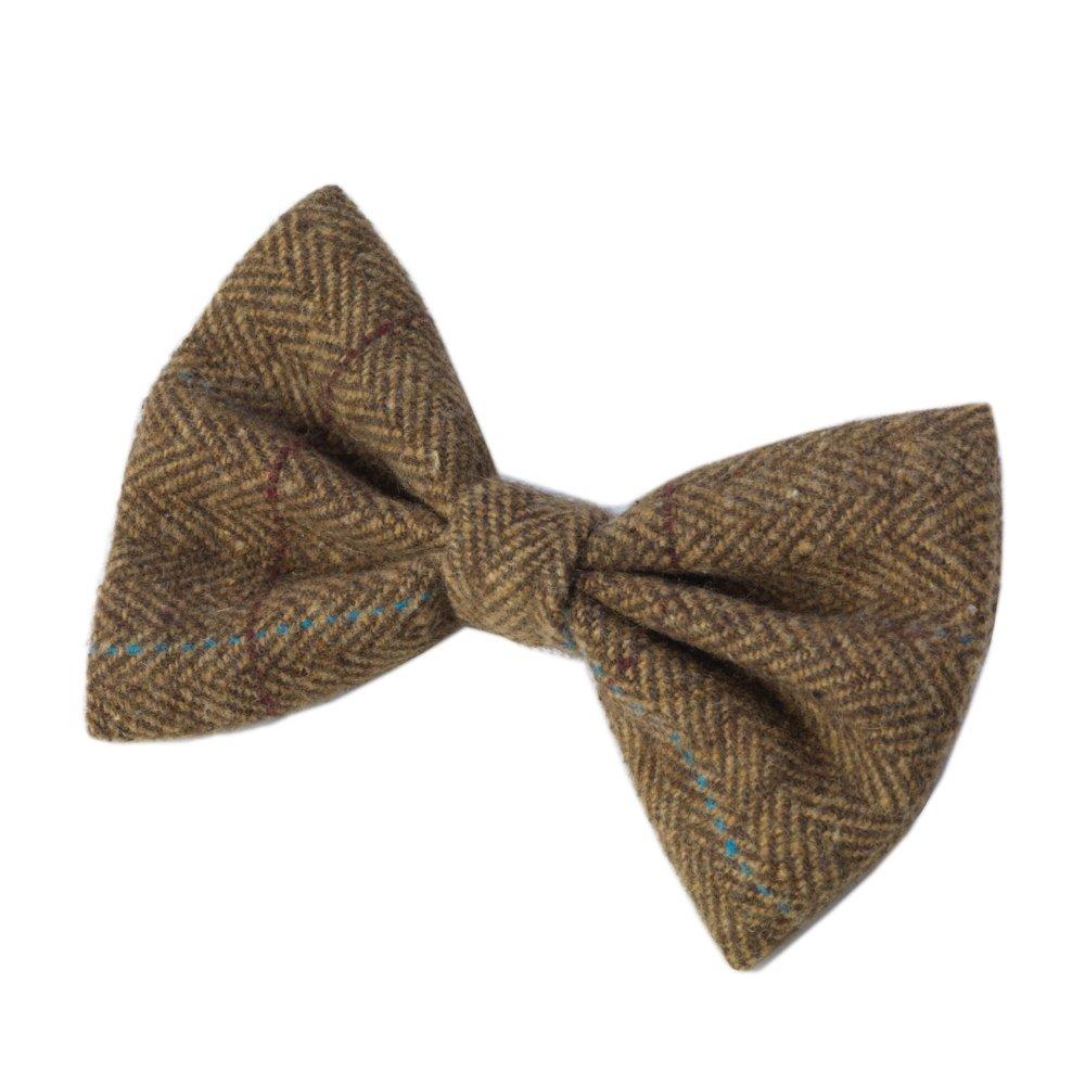 House of Paws HP976 Corbata de Fibras de Tweed, Color marrón ...