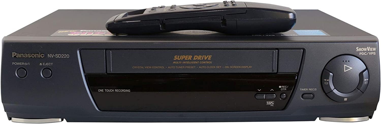 Panasonic NV-SD 220 VHS Videorecorder in schwarz Camcorder ...