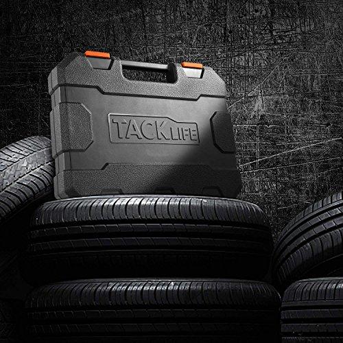 TACKLIFE 1/2-Inch Drive Master Deep Impact Socket Set, Inch, CR-V, 6 Point, 17-Piece Set - HIS2A by TACKLIFE (Image #7)