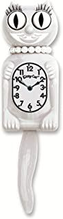 product image for Miss Kitty Cat Klocks (White)