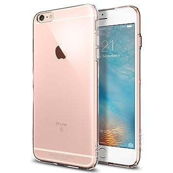 Spigen Capsule - Funda para Apple iPhone 6 Plus, transparente