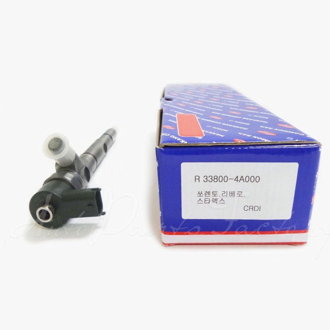 4 pcs set Refurbished Bosch CRDI Diesel Fuel Injector 33800 4A000 for Hyundai Kia Starex Sorento Libero