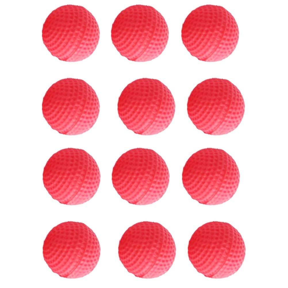 Einsgut Bolas de Bala de Espuma Redonda Recarga Compatible Reemplazar Paquete de Bolas de Bala Reemplazar Paquete de Bala Compatible para Nerf Rival Apollo Zeus Ni/ños Juguetes para ni/ños