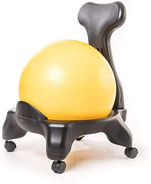 Kikka Active Chair - Silla ergonómica con pelota de ejercicios ...
