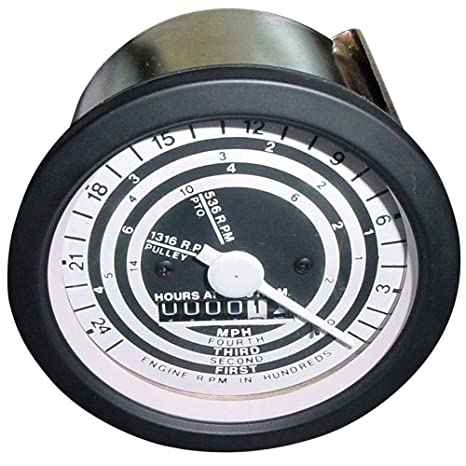 Amazon com: 86520180 Tachometer Tach Gauge Cable Driven Assembly For