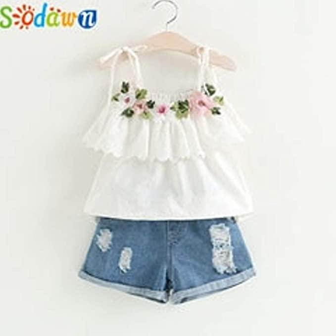 Amazon.com: Chitop Sodawn Fashion Girls Clothing Set - Summer Baby ...