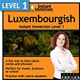 Instant Immersion Level 1 - Luxembourgish [Download]