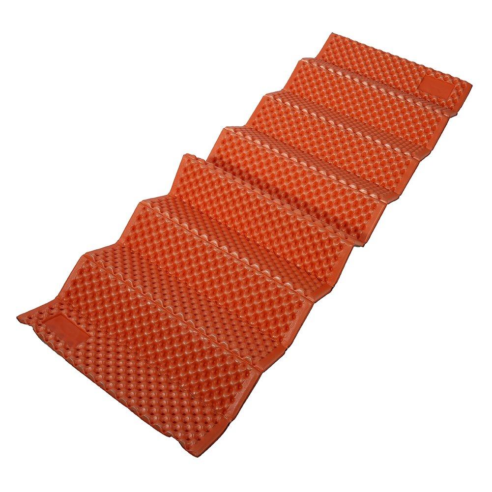 Dioche キャンプ用寝袋 アウトドア 折りたたみ式 防湿 キャンピングマット 軽量 防塵 寝袋 テント ハイキング バックパック キャンプ B07GS46GZJ オレンジ