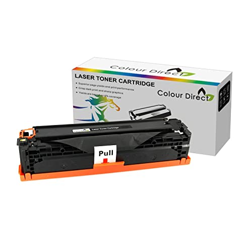 Colour Direct Compatible Black Laser Toner Cartridge- Replacement For Brother DCP-7020, FAX-2820, FAX-2920, HL-2030, HL-2040, HL-2070N, HL-6050D, HL-6050DN, MFC-7220, MFC-7225N, MFC-7420, MFC-7820N 2500 Pages - TN2000