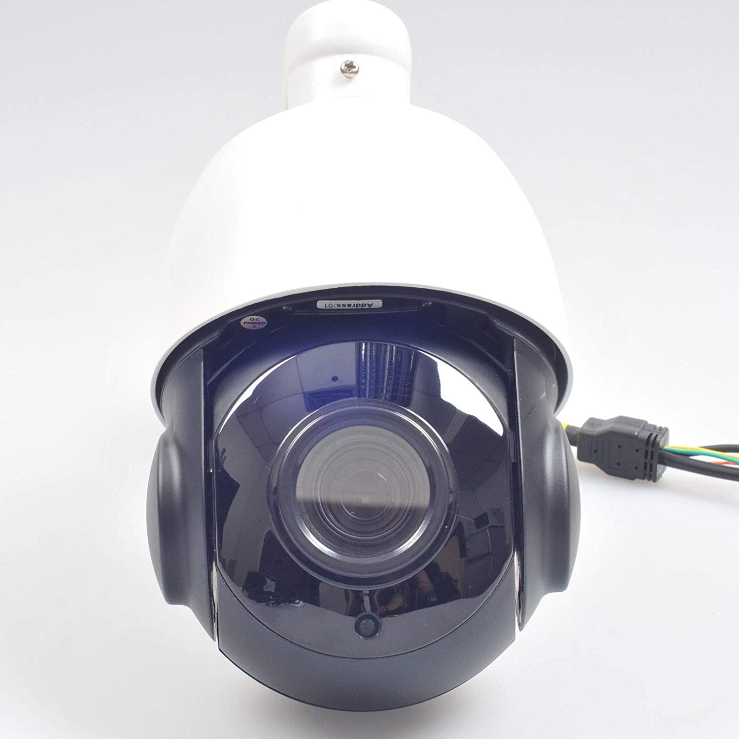 【お買い得!】 FidgetGear HD 1080P CCTV IP Camera 18X Optical Zoom Security PTZ Speed Dome IR 50M Outdoor   B07QB1KVW2, apm24 34cd49bd
