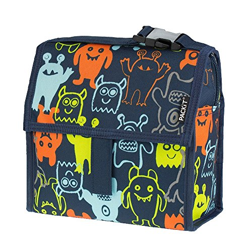 PackIt Freezable Mini Lunch Bag, Monsters 2.0