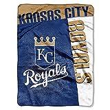 "Kansas City Royals 60""x80"" Royal Plush Raschel Throw Blanket - Strike Design"