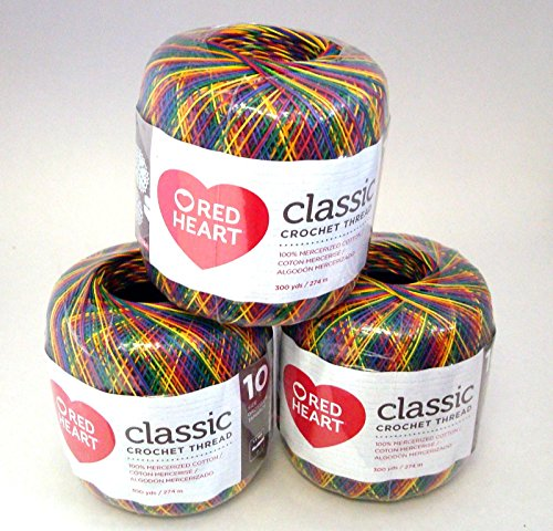 Red heart Classic Crochet thread Mexicana by Red Heart