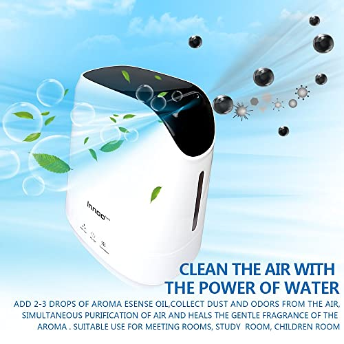 4.2L Warm & Cool Mist Humidifiers, Innoo Tech Ultrasonic Air Purifier with Aromatherapy Touch Control | Whisper-quiet Operation | Auto Shut-off for Baby bedroom, Nursery bedding , Office, Living Room