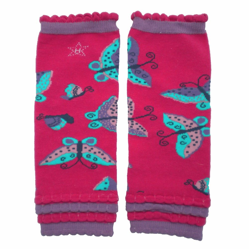 Huggalugs Sale Baby and Toddler Boys and Girls Animal Leg Warmers in Various Designs Butterfly) 666