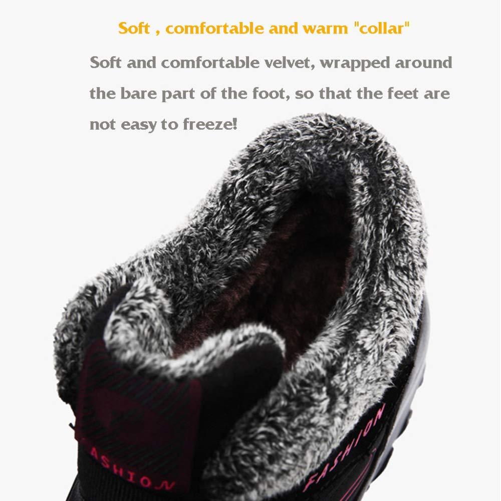 Schneeschuhe Herrenschuhe Pelz Schuhe Im Freien Warme Pelz Herrenschuhe Gefüttert Knöchel Wasserdichte Männer Arbeits Utility Footwear Grau 8f5834