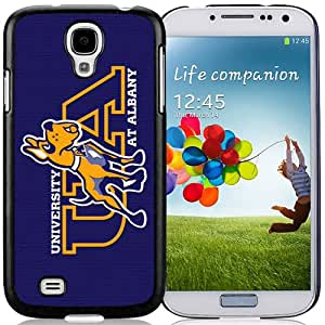 Fashionable And Unique Designed With NCAA Colonial Athletic Association CAA Football Albany Great Danes 4 Protective Cell Phone Hardshell Cover Case For Samsung Galaxy S4 I9500 i337 M919 i545 r970 l720 Phone Case Black