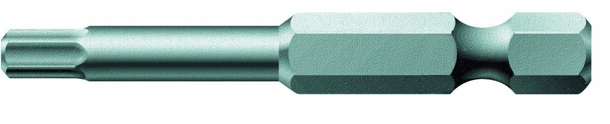 Silver Wera 05059610001 Z Bits for hex Socket Screws 840//4-4.0x50mm