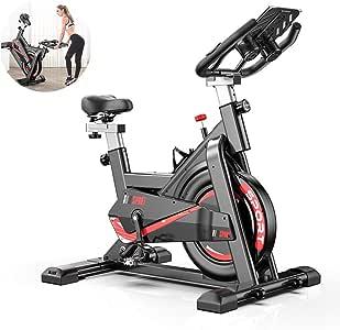 GWSPORT Bicicleta Estática, 30kg Bicicleta Spinning Exercise Bike ...