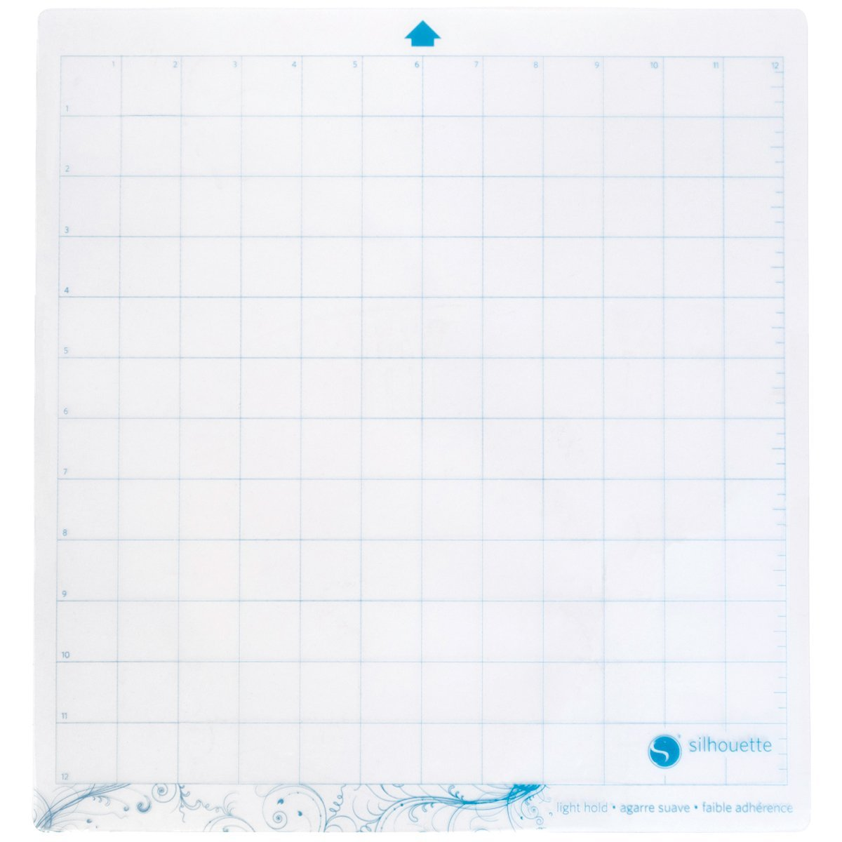 Silhouette CAMEO Light Hold Cutting Mat for Scrapbooking Silhouette America CUT-MAT-12LT-3T
