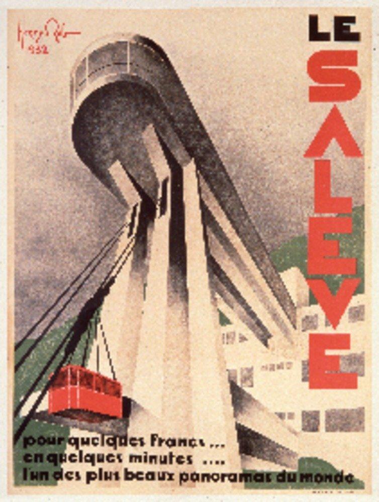 La Saleveヴィンテージポスター(アーティスト: Reb )フランスC。1932 36 x 54 Giclee Print LANT-74844-36x54 36 x 54 Giclee Print  B01MPZRXHS