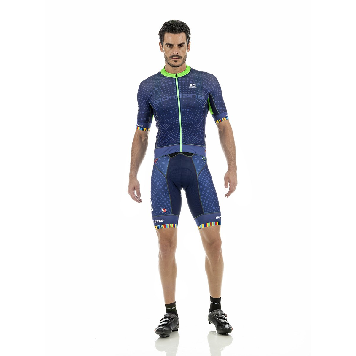 78f016777 Amazon.com   Giordana Mens Polaris Moda FRC Pro Short Sleeve Cycling Jersey  - GICS17-SSJY-FRCP-POLA   Sports   Outdoors