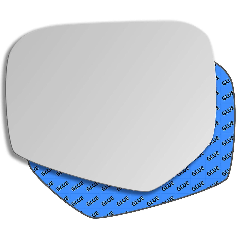 Hightecpl 233LS Left Passenger Side Convex Door Wing Mirror Glass