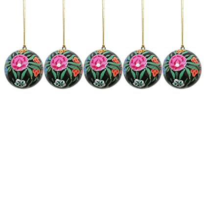 Paper Mache Christmas Ornament.Buy Craftdarbar Handcrafted Paper Mache Christmas Decoration