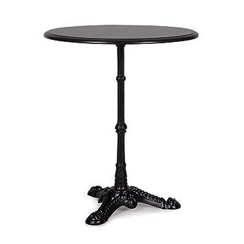 Blumfeldt Patras-BK Table de Bistro - Table Haute, Produit Naturel Unique,  pour l\'intérieur et l\'extérieur, Granit 4-Seasons, imperméable, antigel, ...