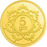 Candere By Kalyan Jewellers Gold 5 Gm, 24K (999) Yellow Gold Precious Coin