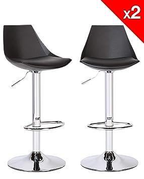 Kayelles Lot De 2 Tabourets De Bar Moderne Chaises De Bar