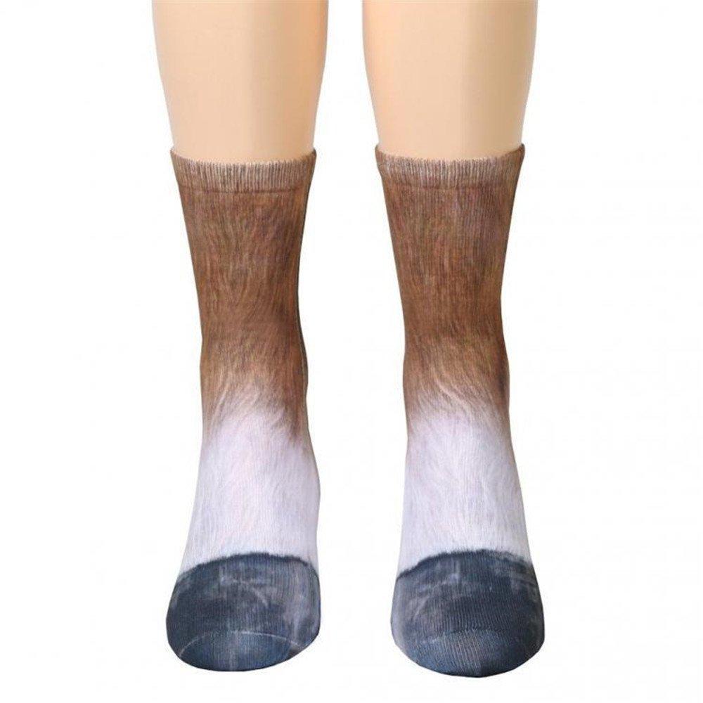 ... dibujos animados animales dedos pies calcetín, un tamaño cabe todos, (Varios Colores) 3d animal Adult Digital Simulación Calcetines, color cebra ...