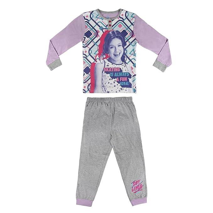 Pijama niña Soy Luna lila dos piezas (12)