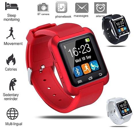 UTHDELD Smartwatch Pulsera Inteligente electrónica Reloj ...