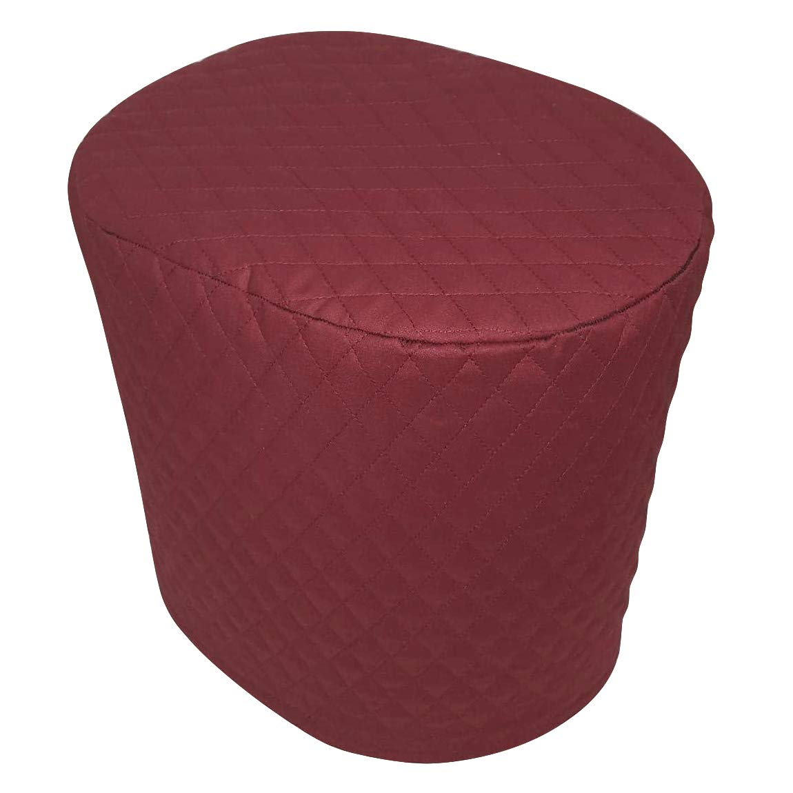 "Coffee Maker Cover, 8""x11""x13"" Quilted 2–ply Cotton Fabric Small Appliance Parts Cover for Kitchen & Dining TFC408 (red)"