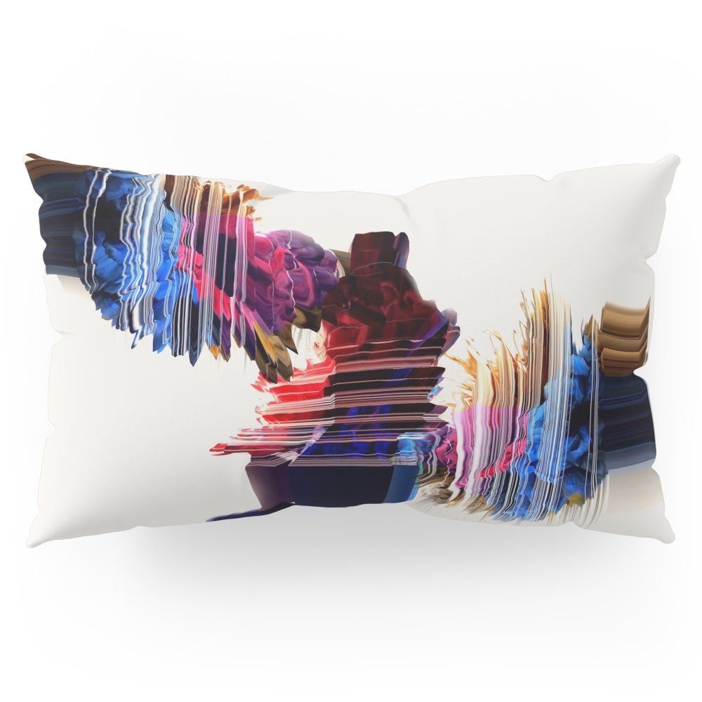 Society6 Psychedelic Love Pillow Sham King (20'' x 36'') Set of 2