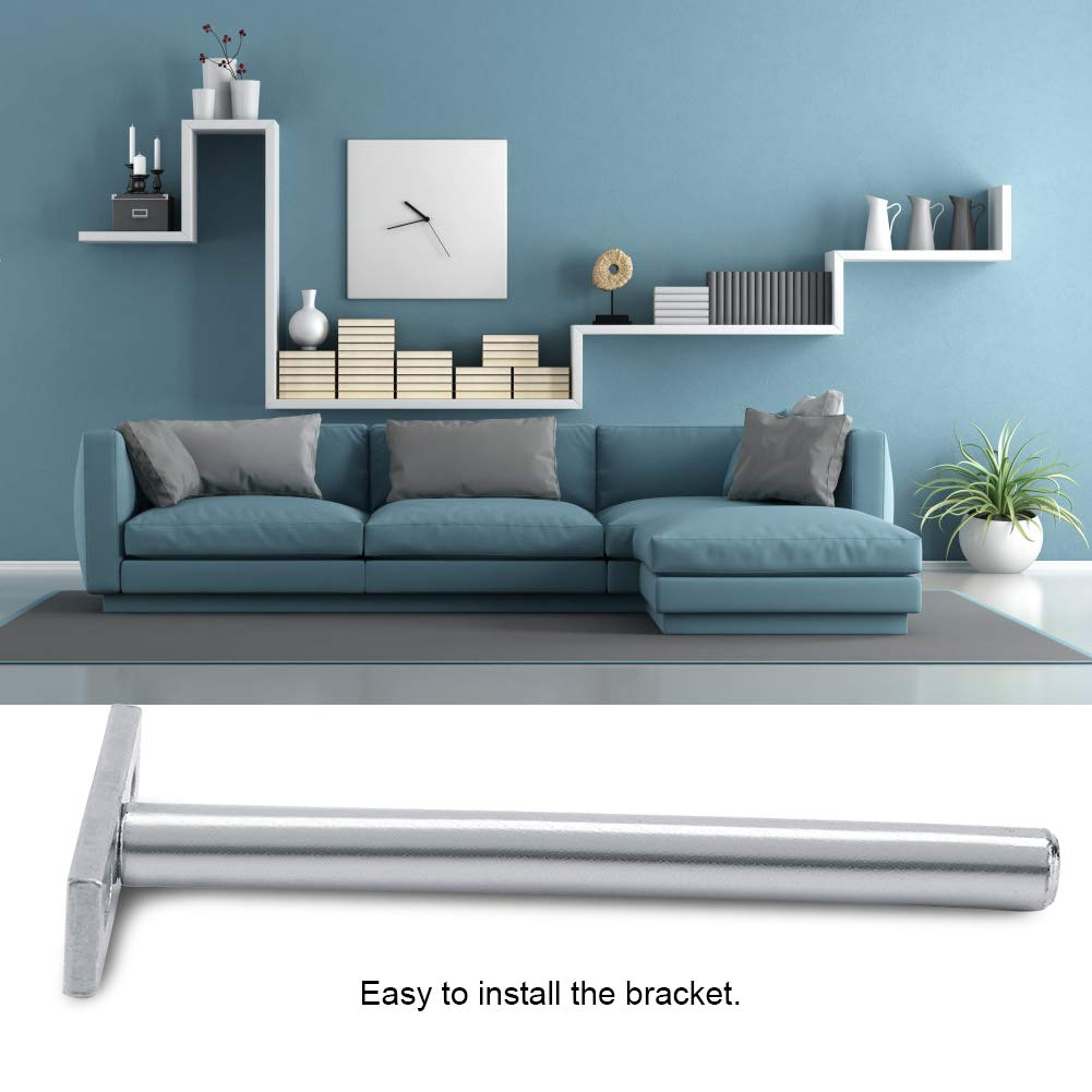 3in DIY Hidden Bracket Sturdy Wall-Mounted Concealed Round Bracket Floating Support Invisible Bracket for Shelf Board Household