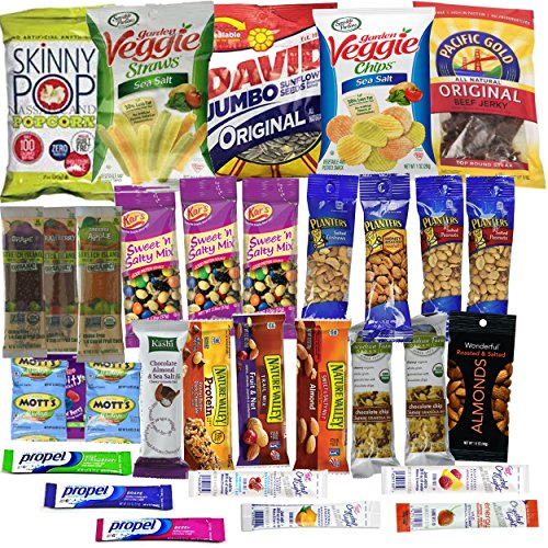 Healthy Snacks Care Package Gift Basket 32 Health Food Snacking